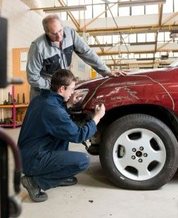 Vehicle Insurance Repairs at Anglia Refinishing Services in Cromer, North Norfolk