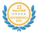 repair hub recommended site logo